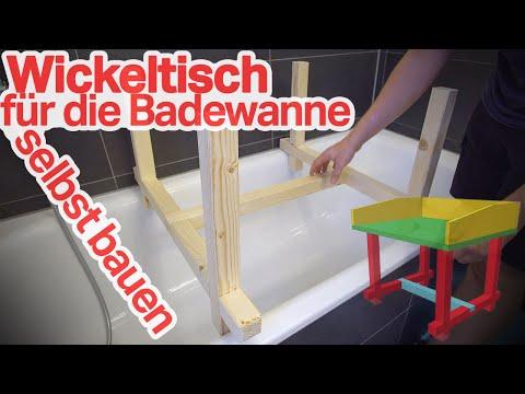 Wickelaufsatz 👶 für die Badewanne selber bauen 👷 DIY (1/2)