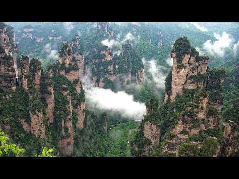 Stunning! The Wulingyuan Scenic Area in China's Hunan Province