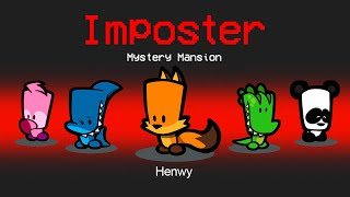 *NEW* ANIMAL IMPOSTER ROLE! (Suspects: Mystery Mansion)