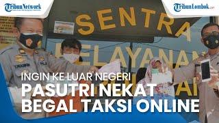 Demi Liburan ke Luar Negeri, Pengantin Baru Begal Pengemudi Taksi Online, Kini Terancam 9 Tahun Bui