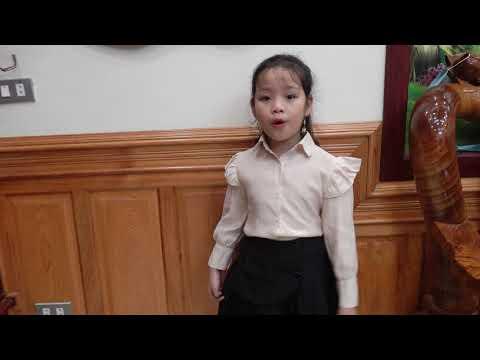 Bông hồng tặng cô - Biểu diễn: Thảo Chi, lớp 2B TH Vật Lại