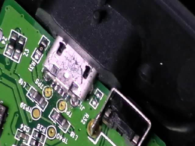 Micro USB Connector on Logitech G930