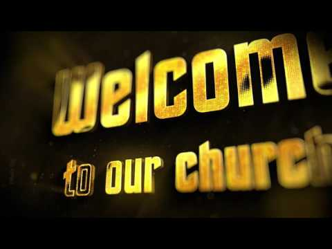 Welcome to Church   Motion Videos for Church