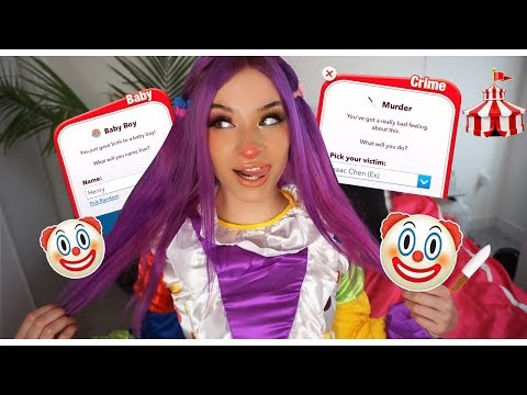 YOU'LL NEVER GUESS WHAT HAPPENED AS A CLOWN... (IN BITLIFE) EMOTIONAL