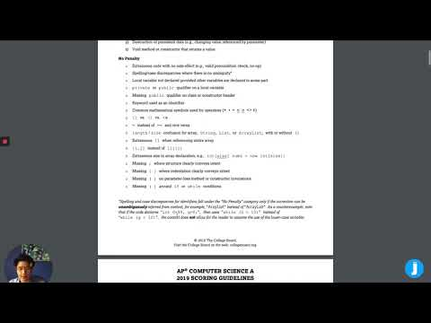 AP Computer Science A: 2020 Exam Tips & Strategies - YouTube