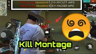 Freefire India 🇮🇳 || Kill montage || pro player || Headshot || part -10