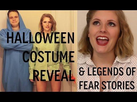halloween costume reveal | Legends of Fear stories!