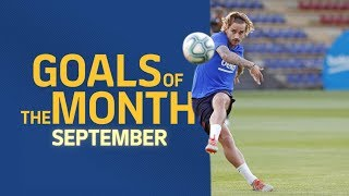 TOP GOALS | September's best goals in training sessions