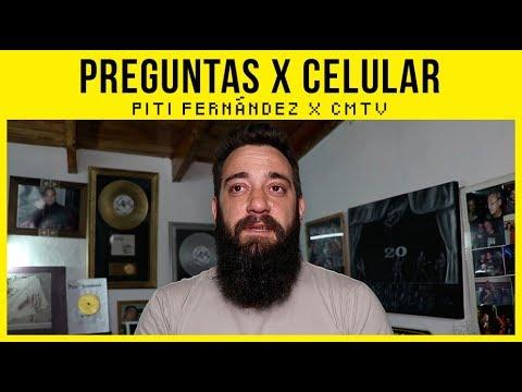 Piti Fernández video #Preguntas x celular - Conmigo Mismo - Octubre 2017