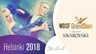 Glukhov - Glazunova, RUS | 2018 GS STD Helsinki | R2 T | DanceSport Total