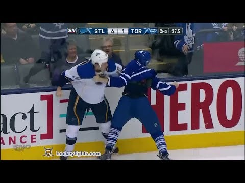 David Clarkson vs. Brenden Morrow