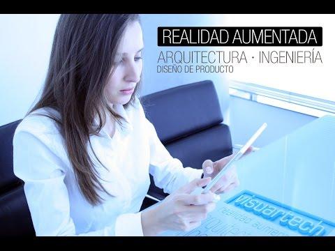Video of Visuartech Augmented Reality