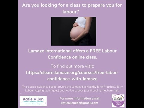 Live chat with Katie Allen Lamaze Childbirth Educator -all about ...