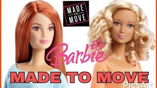 Unboxing BARBIE MADE TO MOVE  2wave Kristen and Lea/  2 волна Кристен и Лея