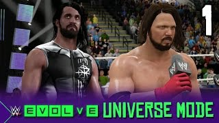 WWE 2K17 Universe: A New Era Begins! (WWE Evolve #1)