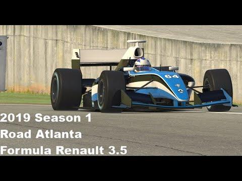 iRacing-19S1-Formula Renault 3 5-Suzuka-DF - смотреть онлайн