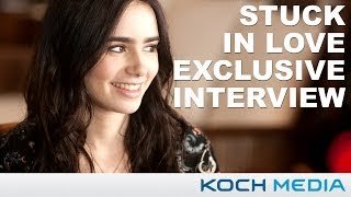 Лили Коллинз, Stuck In Love - Lily Collins Exclusive Fan Interview