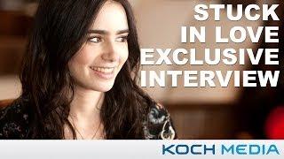 Лили Коллинз, Stuck In Love - Lily Collins Exclusive Fan Interview