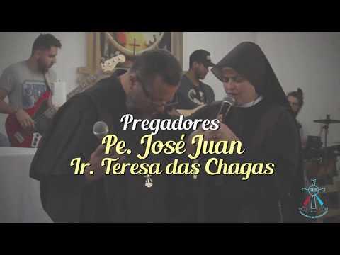Pregação: Como em Sta. Faustina, a vontade de Deus aconteça na minha vida - Pe. José Juan da Misericórdia.