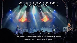 EUROPE - WAR OF KINGS ENTIRE ALBUM LIVE 2016 (4K)