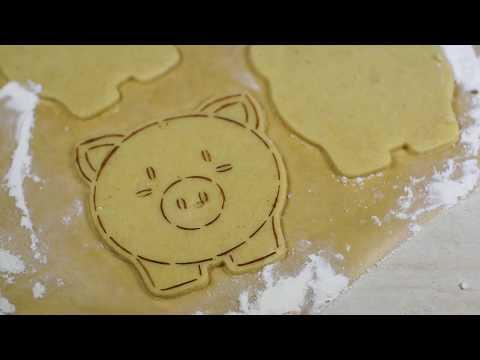 Вырубка + трафарет для пряников Книги — купить в Украине — интернет-магазин CakeShop.com.ua  , відео