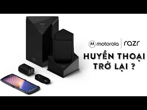 Điện Thoại nắp gập Motorola Razr 5G chính hãng | Huyền thoại trở lại !!!