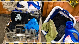 Can You Wash Your Clothes in a Dishwasher?