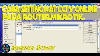 How to do Port Forwarding for DVR in Mikrotik Router