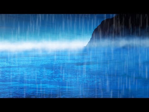 Rain Sounds & Ocean Waves White Noise for Sleeping, Studying, Relaxation | 10 Hours