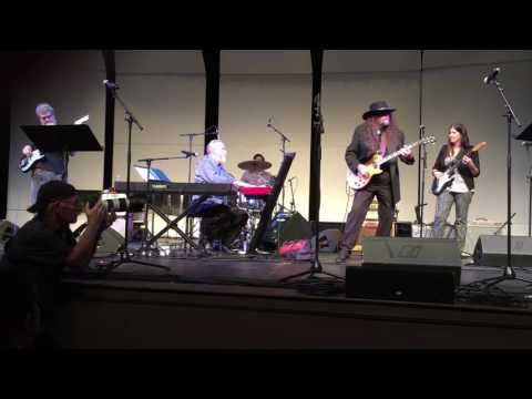 Healing Blues Concert Greensboro College October 2016.