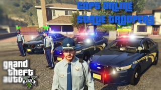 COPS ONLINE - TROOPERS SHOW FORCE POLICE SHOOTING
