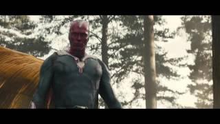 Avengers Age Of Ultron Escena Visión Destruye A Ultron Español Latino HD