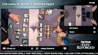 Pro Tour Fate Reforged Round 2 (Draft): Tom Martell vs. Brad Nelson