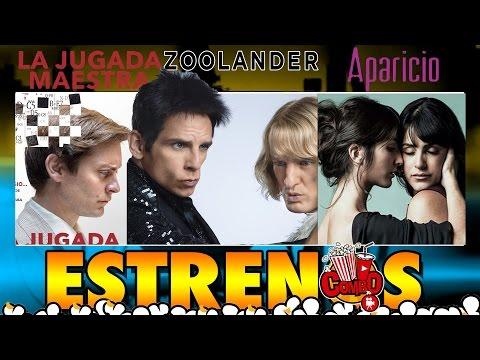 Zoolander2, LasAparicio, JugadaMaestra y más