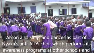 preview picture of video 'Amons Story Official Video (Nyaka Aids Orphans School)'