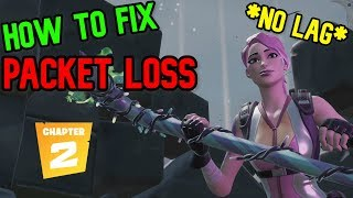 How to FIX Packet Loss *NO LAG* (Fortnite)