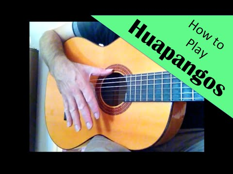 How to play the sones of Mariachi: Huapangos