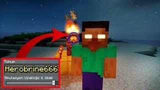Minecraft Herobrine 666 Çağırdım! ÖLDÜRDÜ.. Minecraft PE Seed