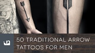 50 Traditional Arrow Tattoos For Men