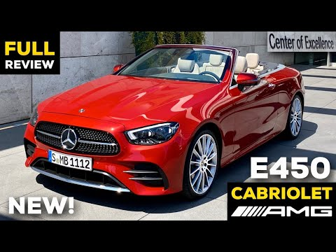 2021 MERCEDES E-Class CABRIOLET NEW FACELIFT Full In-Depth Review Exterior Interior Infotainment