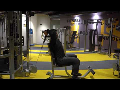 Cable Overhead Tricep Extension With Rope