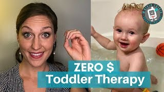 Zero Cost Toddler Speech Therapy | Daily Routines