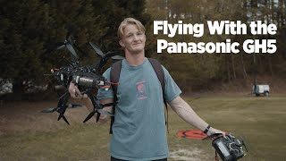 Testing GH5 Stabilization on Fpv Cinema Drone (GH5 vs Gopro Hero 8)