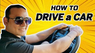 Learn How to DRIVE a CAR - EASY LESSON # 1 || Expert TIPS in this video || Toronto Drivers