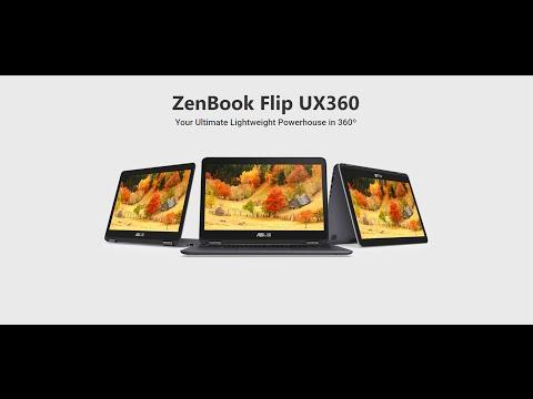 ASUS ZenBook Flip UX360CA 360°-rotatable display Full Review
