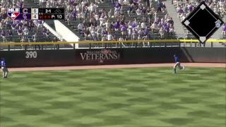 MLB CPU vs CPU League: Cubs (15-6) @ Rockies (10-12)