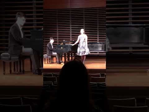JMU's Concerto Aria Competition Winning Performance of Una voce poco fa from Rossini's Barber of Seville