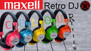 Maxell Retro DJ Headphones Review [Deutsch/German]
