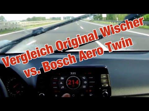 Hyundai i30N Performance - Original Wischer vs. Bosch Aero Twin bei höheren Geschwindigkeiten