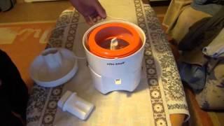 Test-Funktiontest Entsafter Efbe-Schott ,Test function Test juicer Efbe-Schott,